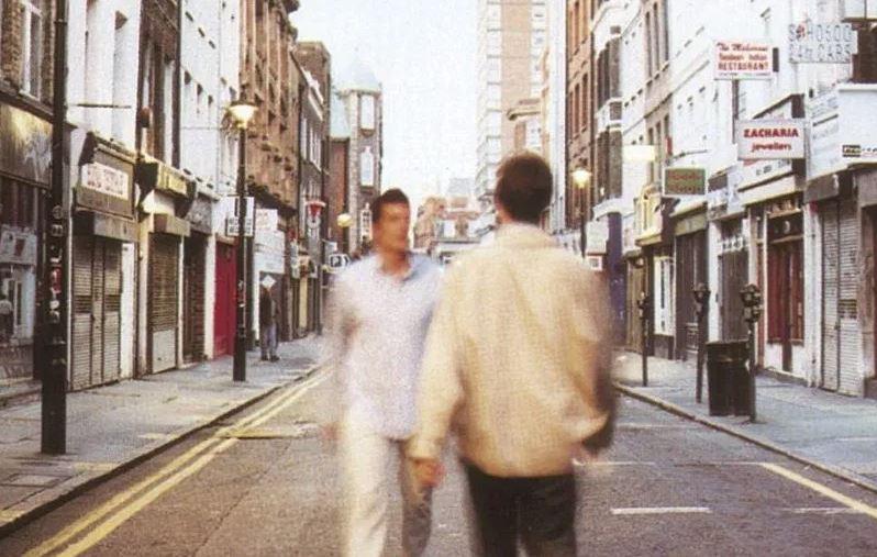 oasis, band, berwick street, soho, london