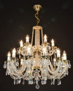 rock, crystal, chandelier, works